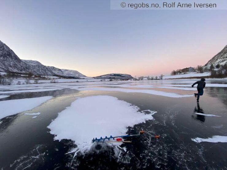 Bilde til isvarselet for Troms