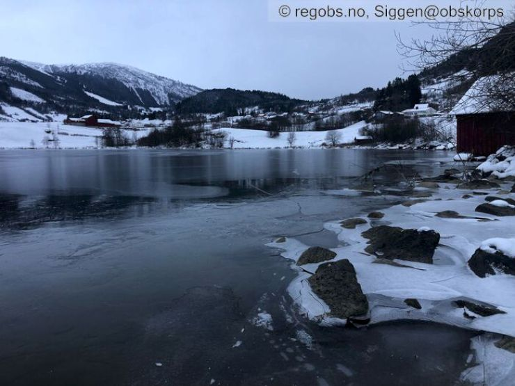 Bilde til isvarselet for Vestland