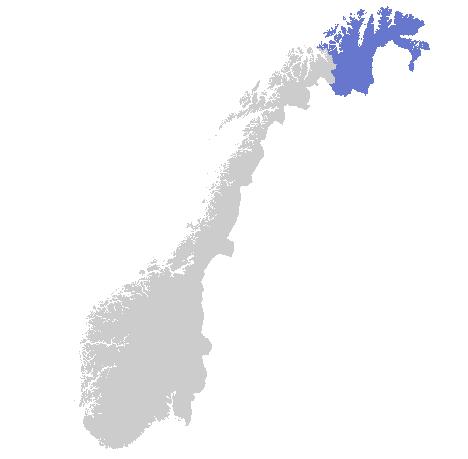 Varslingsområde Finnmark
